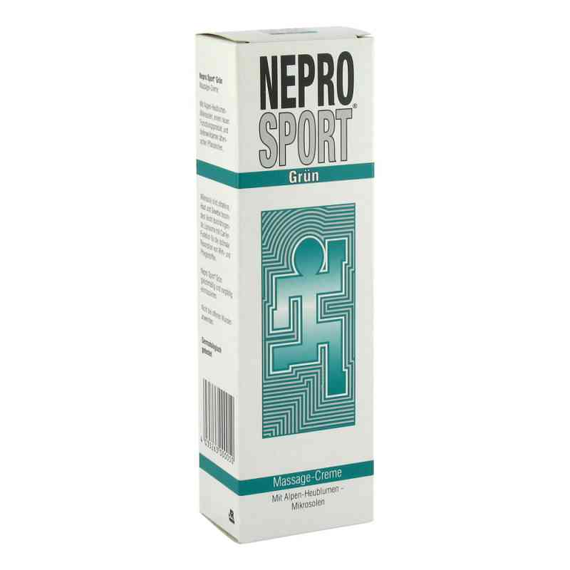 Nepro Sport Creme gruen  zamów na apo-discounter.pl