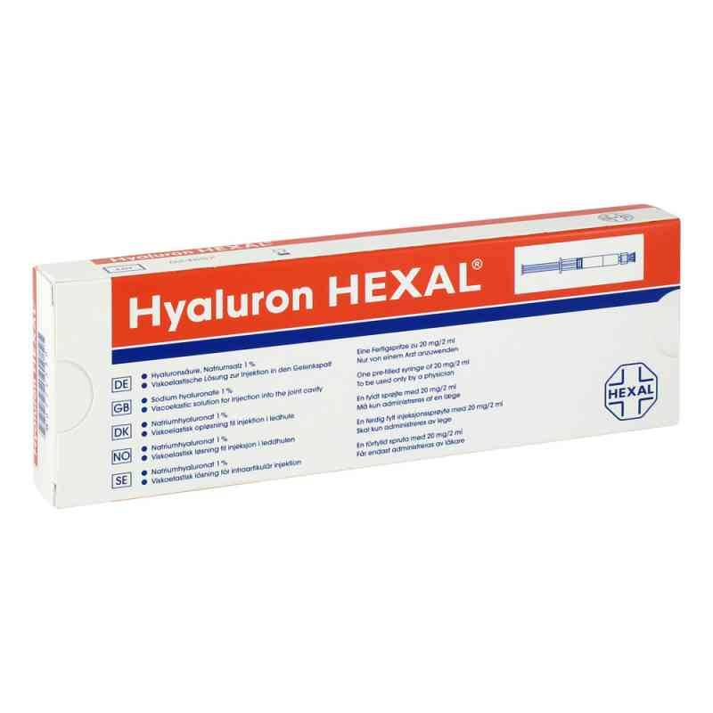Hyaluron Hexal gotowy rozstwór do wstrzykiwań   zamów na apo-discounter.pl