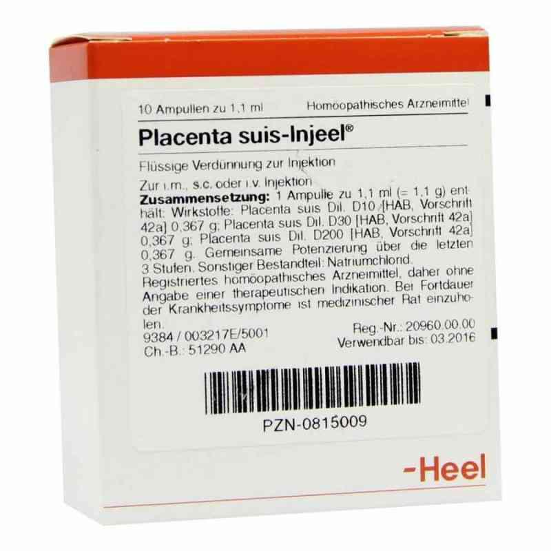 Heel Placenta Suis Injeel ampułki  zamów na apo-discounter.pl