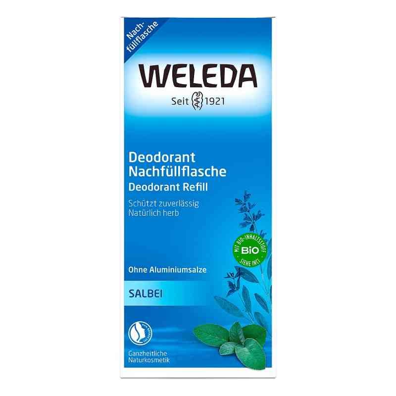 Weleda dezodorant o zapachu szałwii opakowanie uzupełniające  zamów na apo-discounter.pl