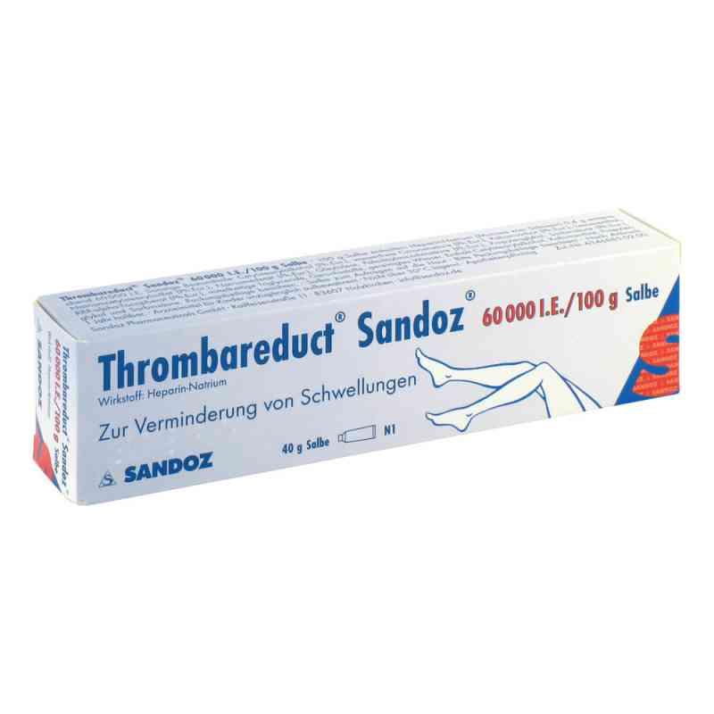 Thrombareduct Sandoz 60 000 I.e. Salbe  zamów na apo-discounter.pl