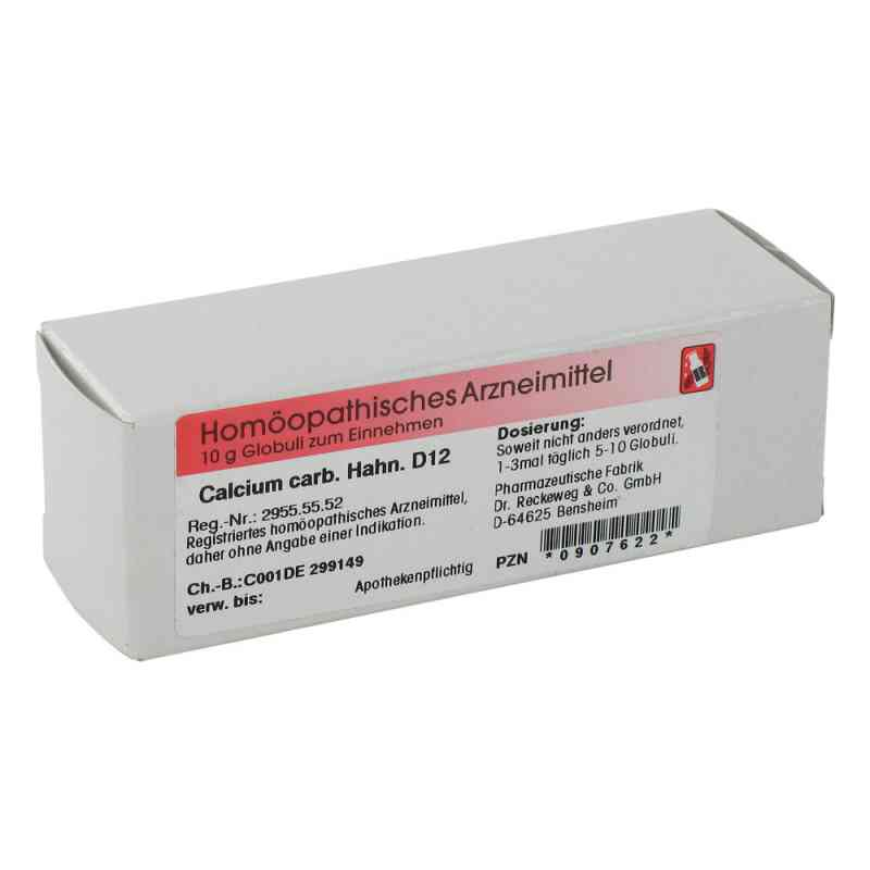 Calcium Carbonicum Hahnemanni D 12 Globuli  zamów na apo-discounter.pl