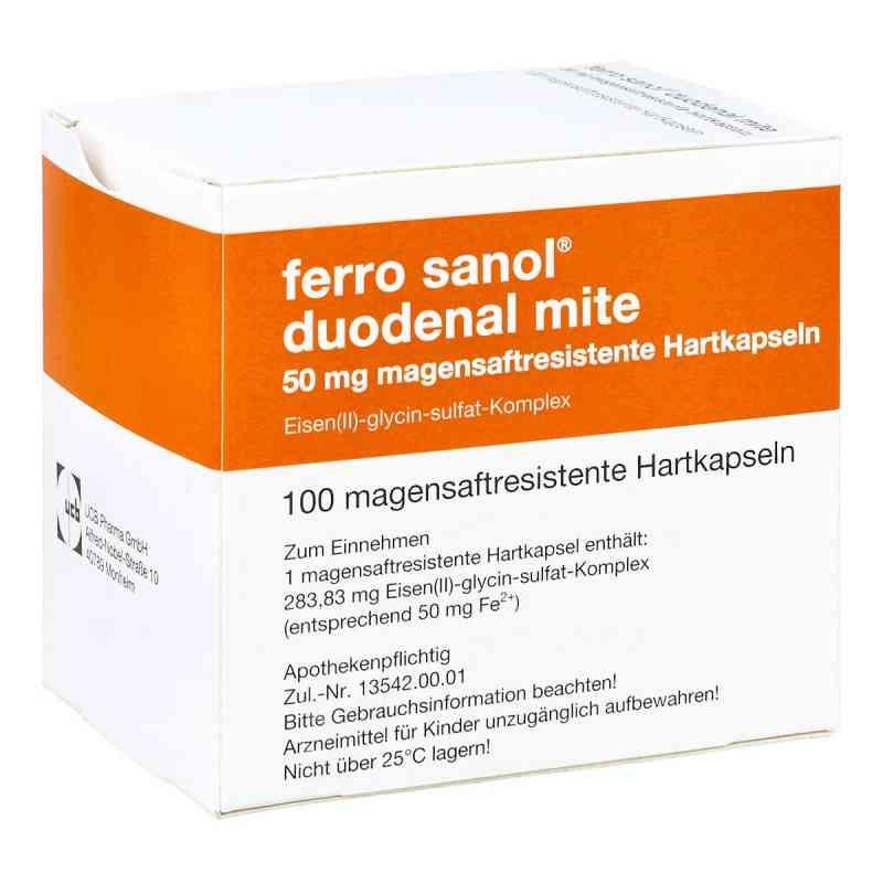 Ferro Sanol duo mite 50mg magens.r.Pel.i.Kps.  zamów na apo-discounter.pl
