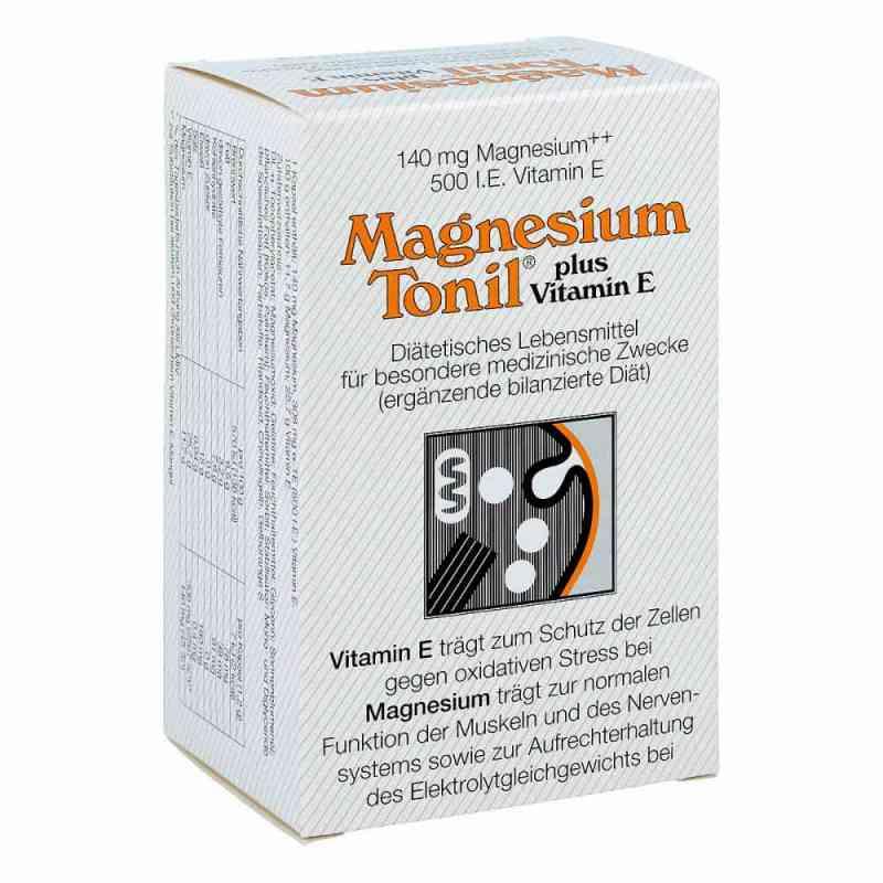 Magnesium Tonil Magnez + wit. E kapsułki zamów na apo-discounter.pl