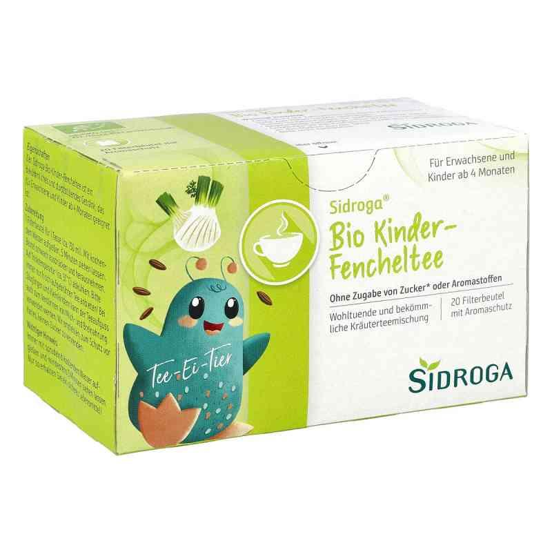 Sidroga Bio Kinder herbata dla dzieci z kopru włoskiego saszetki  zamów na apo-discounter.pl