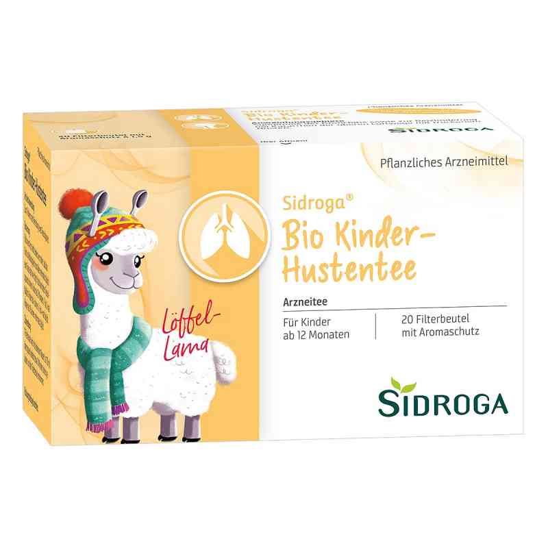 Sidroga Bio Kinder herbata dla dzieci przeciw kaszlowi saszetki  zamów na apo-discounter.pl