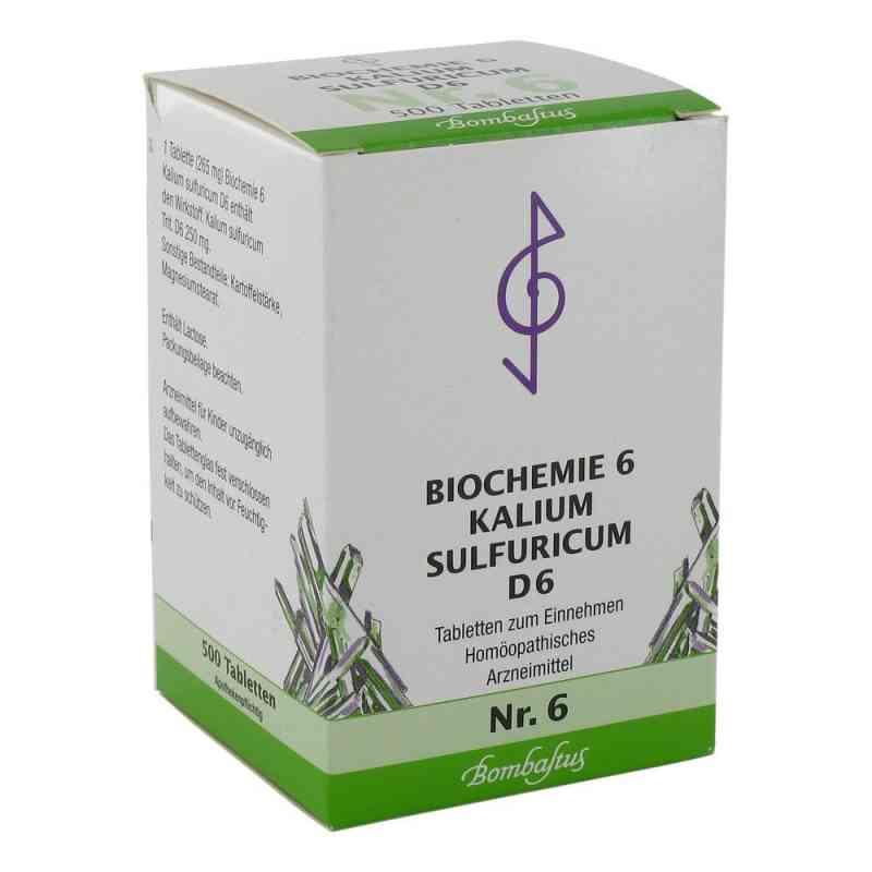 Biochemie 6 Kalium sulfuricum D 6 Tabl.  zamów na apo-discounter.pl