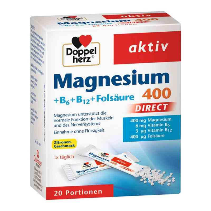 Doppelherz Aktiv Magnez + B6 + B12  zamów na apo-discounter.pl