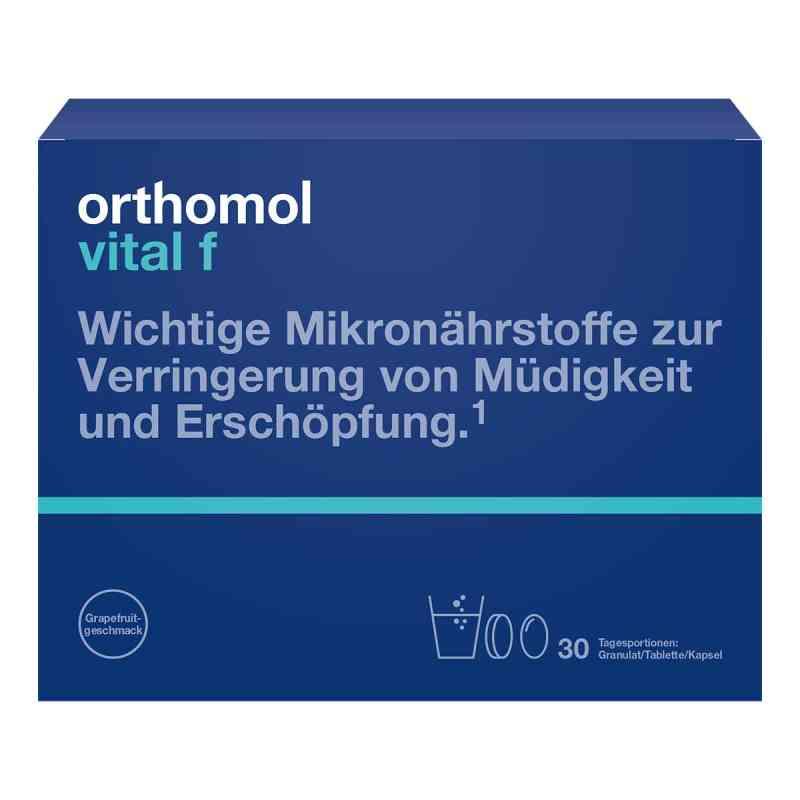 Orthomol Vital F granulat + kapsułka+ tabletka  zamów na apo-discounter.pl