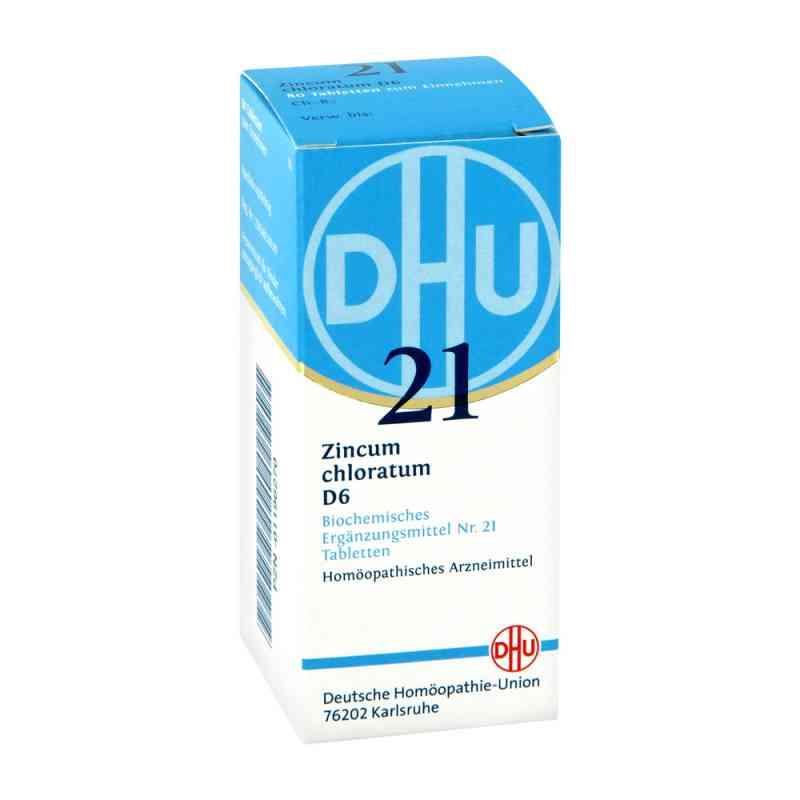 Biochemie Dhu 21 Zincum chloratum D 6 Tabl.  zamów na apo-discounter.pl