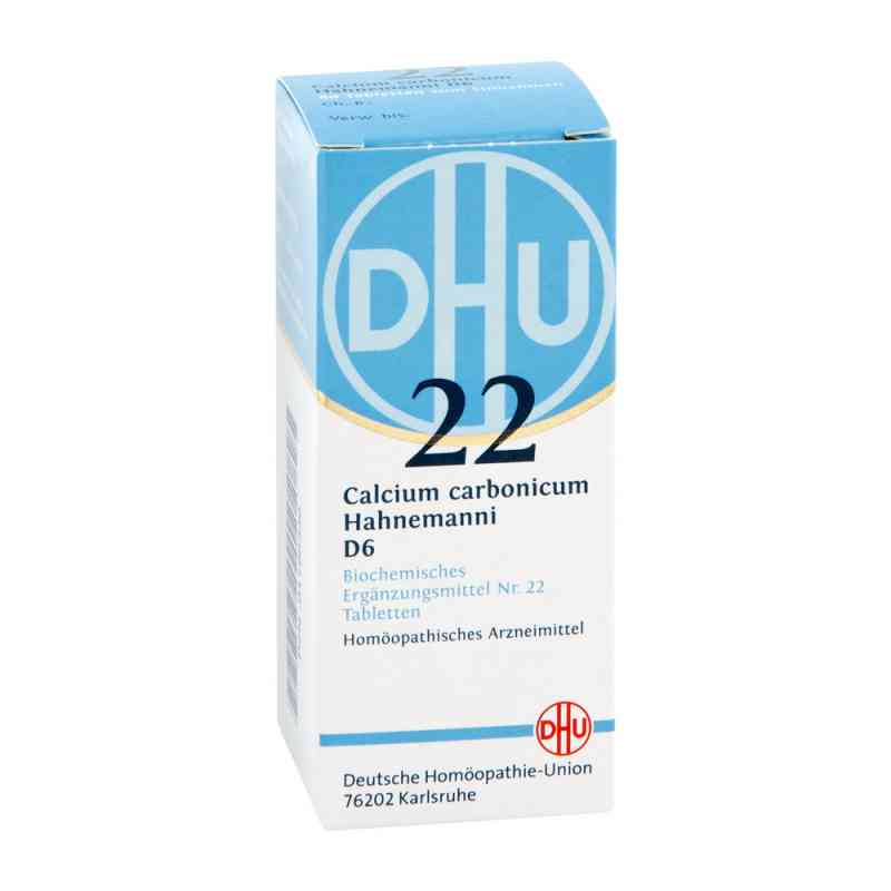 Biochemie Dhu 22 Calcium carbonicum D 6 Tabl.  zamów na apo-discounter.pl