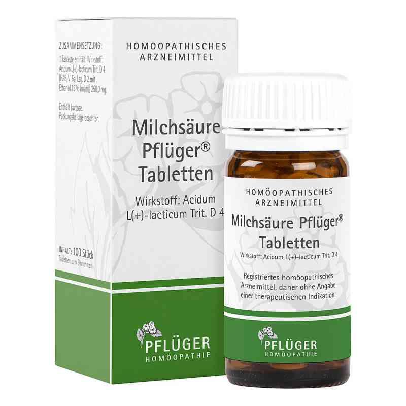 Milchsaeure Pflueger Tabletten  zamów na apo-discounter.pl