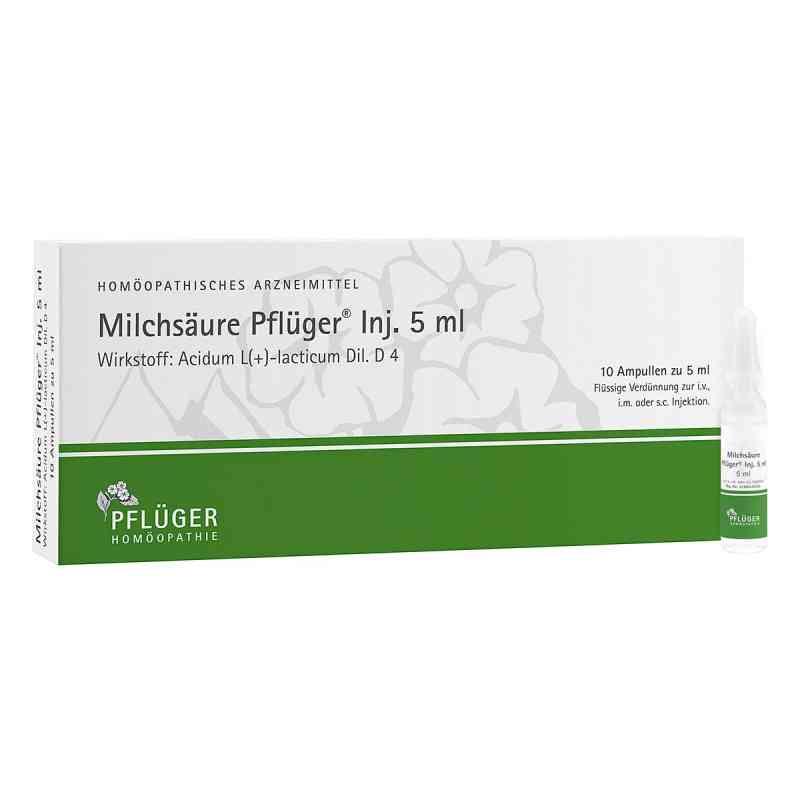 Milchsaeure Pflueger Injektionsloesung 5 ml  zamów na apo-discounter.pl