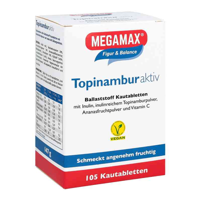 Topinambur Aktiv Megamax tabletki do żucia  zamów na apo-discounter.pl
