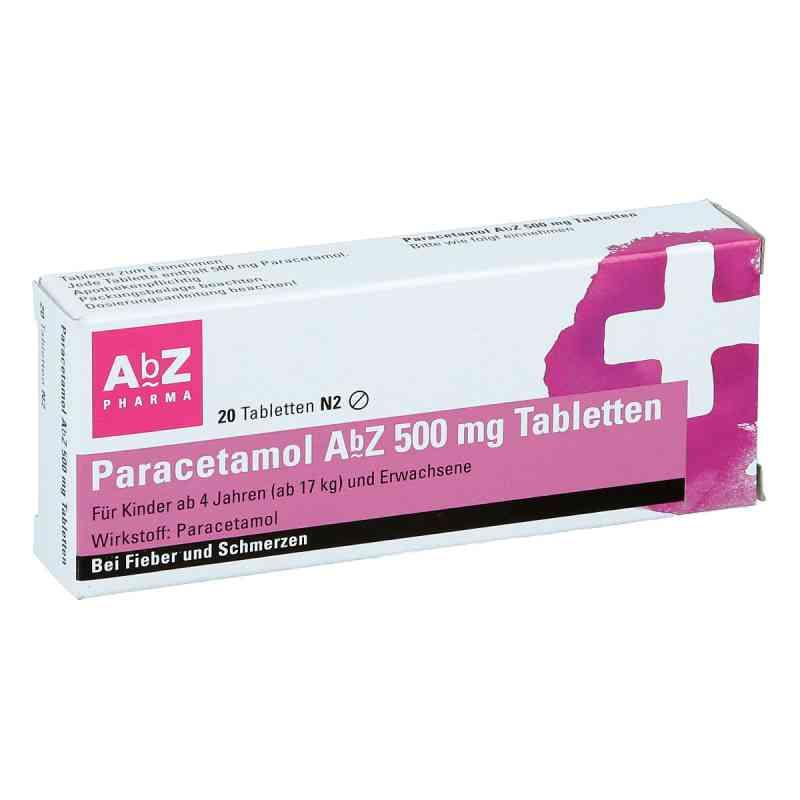 Paracetamol Abz 500 mg Tabl.  zamów na apo-discounter.pl