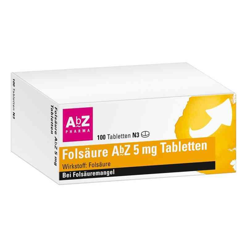Folsaeure Abz 5 mg Tabl. zamów na apo-discounter.pl