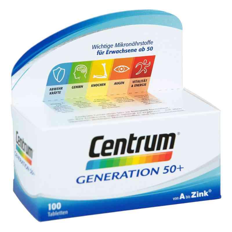 Centrum Gen.50+ A-Zink+floraglo Luteina tabletki  zamów na apo-discounter.pl
