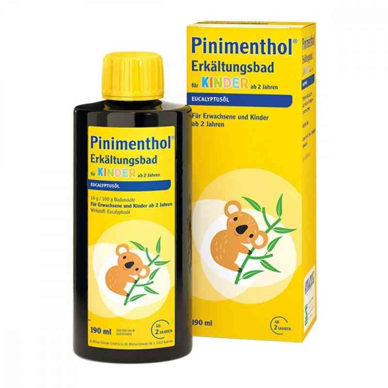 Pinimenthol płyn do kąpieli przeciw przeziębieniom dla dzieci   zamów na apo-discounter.pl