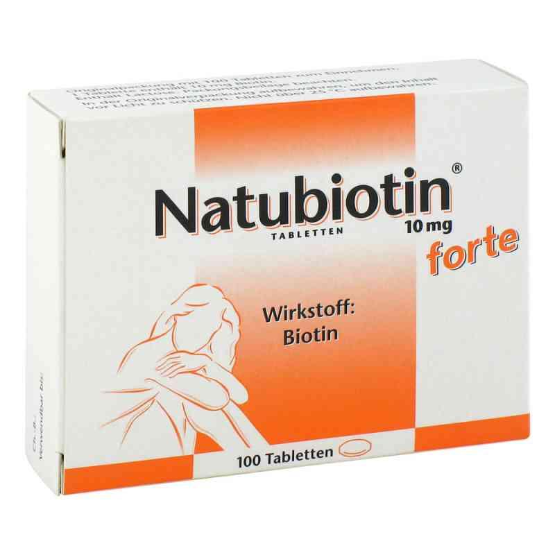 Natubiotin 10 mg forte Tabletten  zamów na apo-discounter.pl