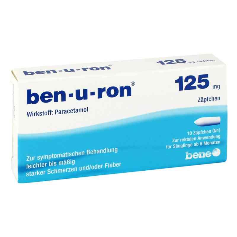 Ben U Ron 125 mg Saeuglings-suppos.  zamów na apo-discounter.pl