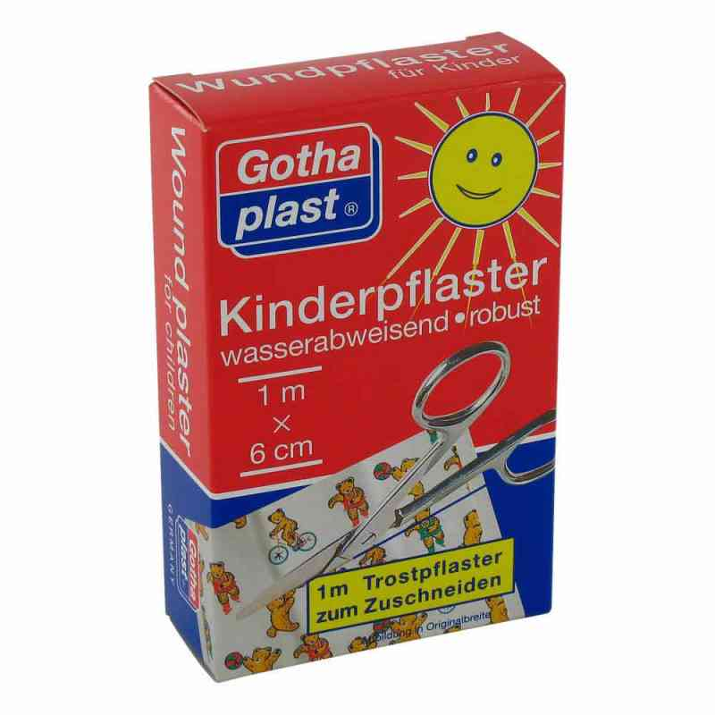Gothaplast 1mx6cm plaster dla dzieci  zamów na apo-discounter.pl