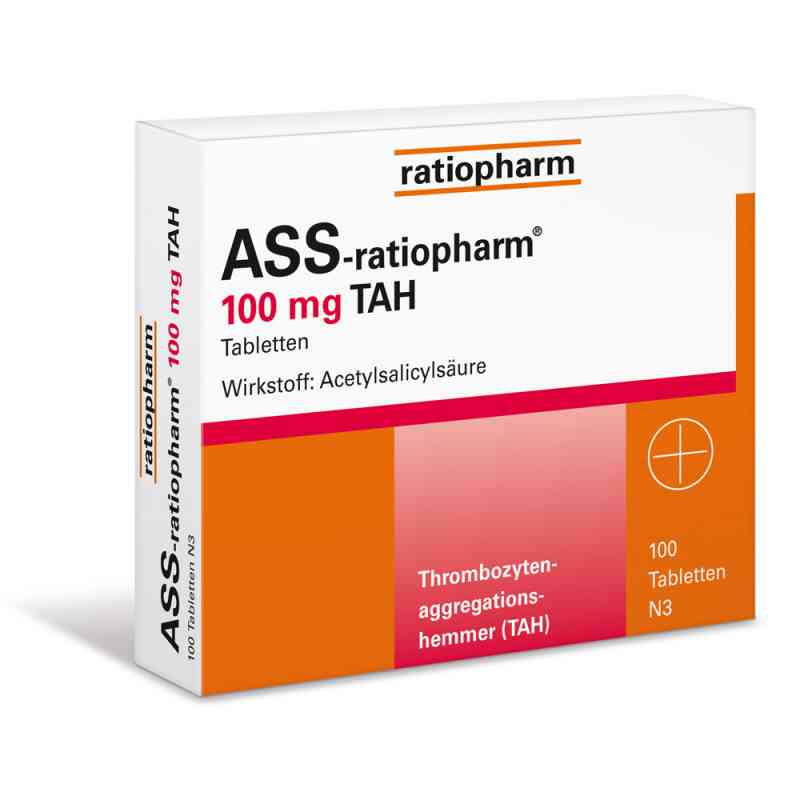 ASS Ratiopharm 100 mg TAH tabletki na serce zamów na apo-discounter.pl