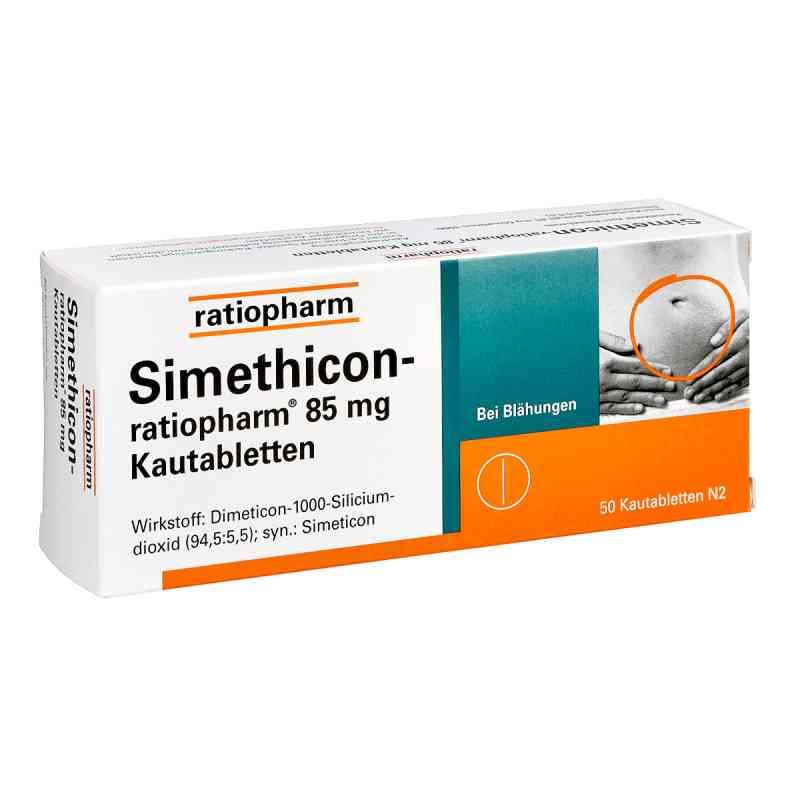 Simethicon ratiopharm 85 mg Kautabl.  zamów na apo-discounter.pl