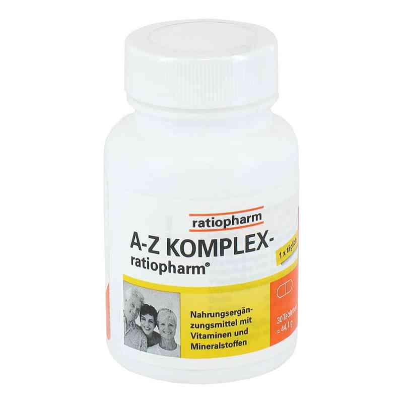 A-Z Komplex Ratiopharm tabletki  zamów na apo-discounter.pl