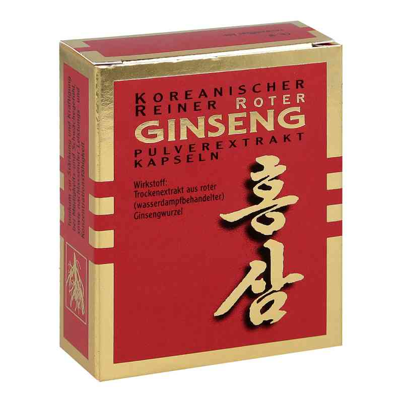 Roter Ginseng Extraktpulver Kapseln 500 mg zamów na apo-discounter.pl