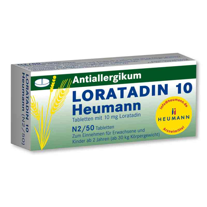 Loratadin 10 Heumann Tabletten  zamów na apo-discounter.pl