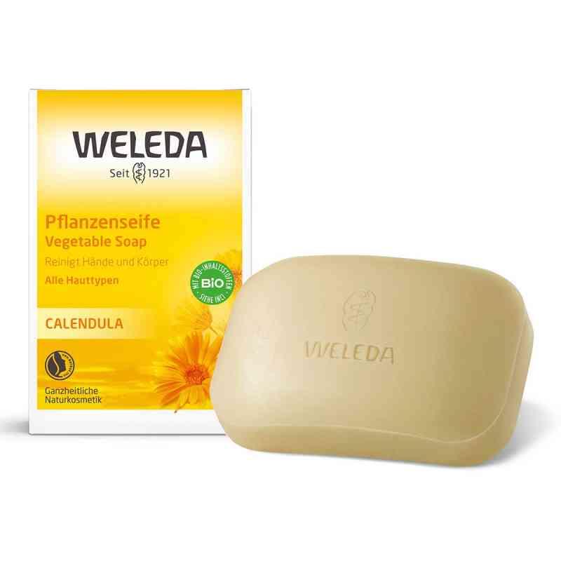 Weleda mydło roślinne z nagietkiem  zamów na apo-discounter.pl
