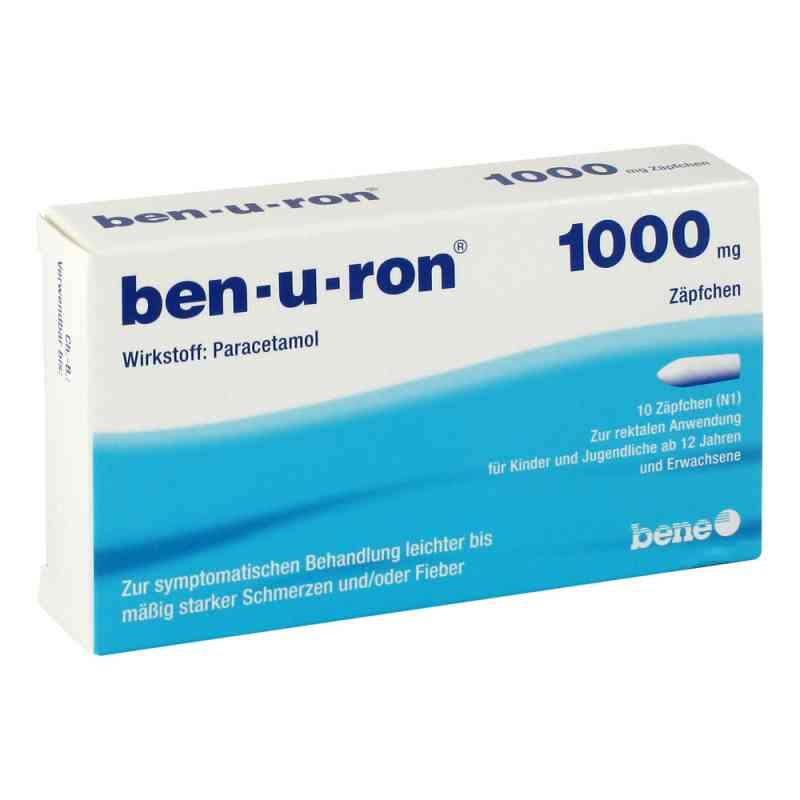 Ben U Ron 1000 mg Erw.-suppos. zamów na apo-discounter.pl