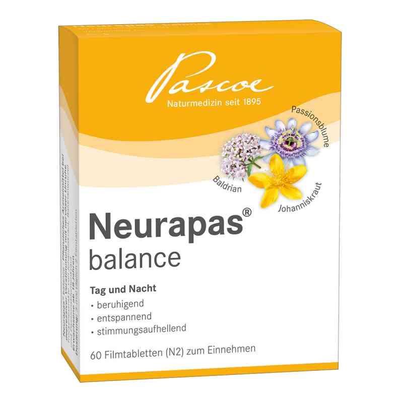 Pascoe NEURAPAS balance, tabletki powlekane zamów na apo-discounter.pl
