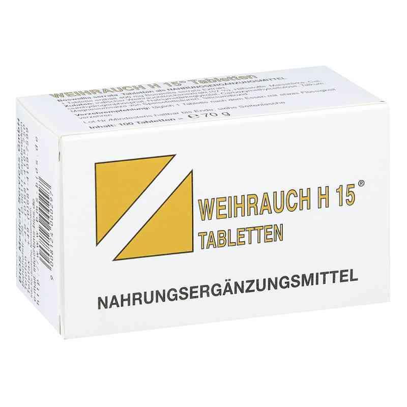 Weihrauch H15  tabletki  zamów na apo-discounter.pl