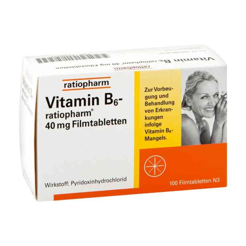Vitamin B 6 ratiopharm 40 mg Filmtabl. zamów na apo-discounter.pl