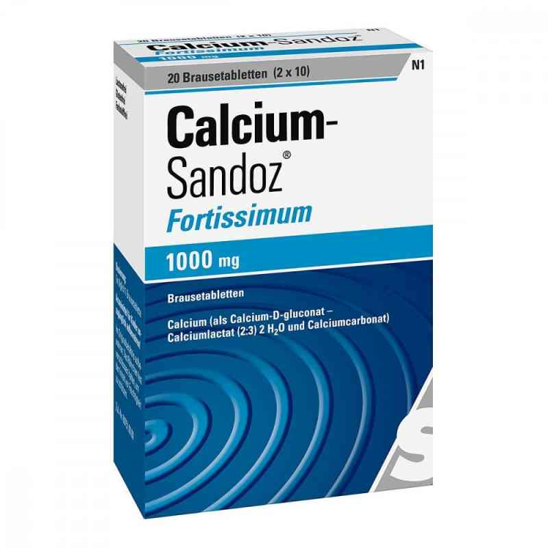 Calcium Sandoz fortissimum Brausetabl. zamów na apo-discounter.pl