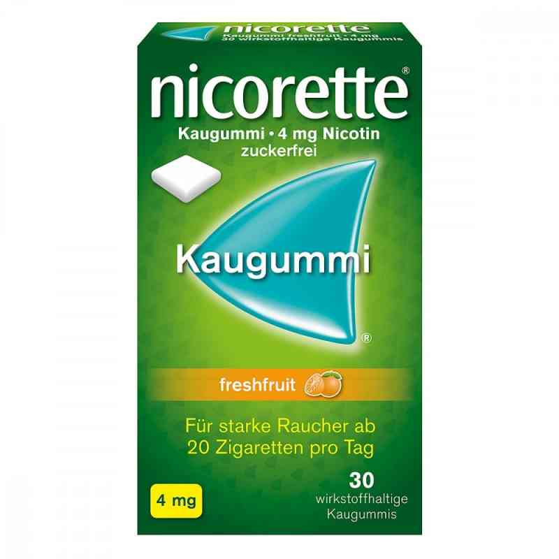 Nicorette 4 mg Freshfruit Kaugummi zamów na apo-discounter.pl