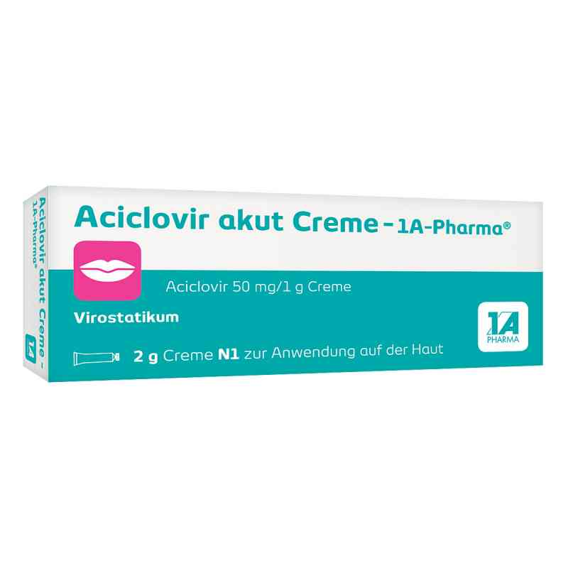 Aciclovir akut Creme 1a Pharma zamów na apo-discounter.pl