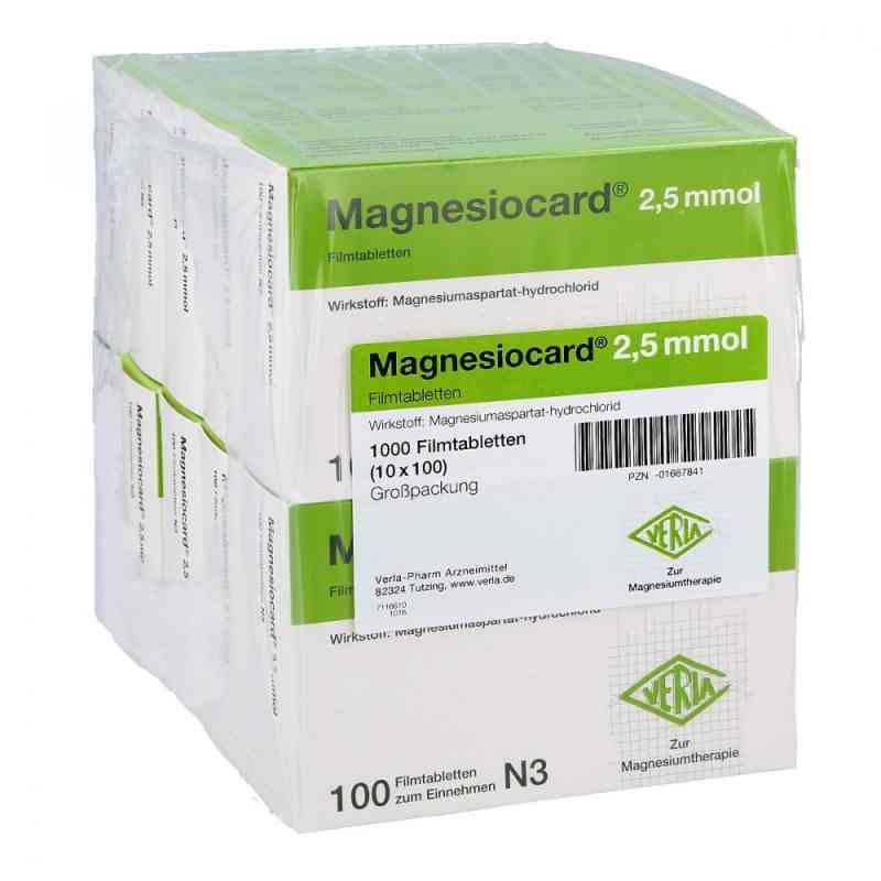 Magnesiocard 2,5 mmol Filmtabl.  zamów na apo-discounter.pl