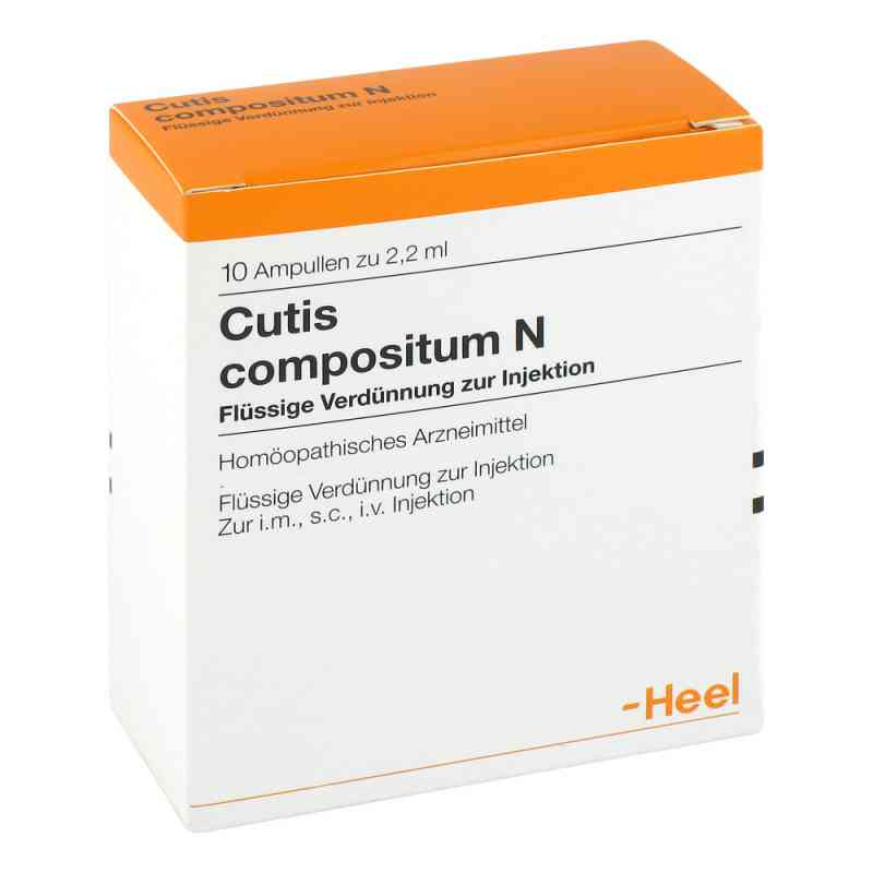 Heel Cutis Compositum N ampułki do iniekcji   zamów na apo-discounter.pl
