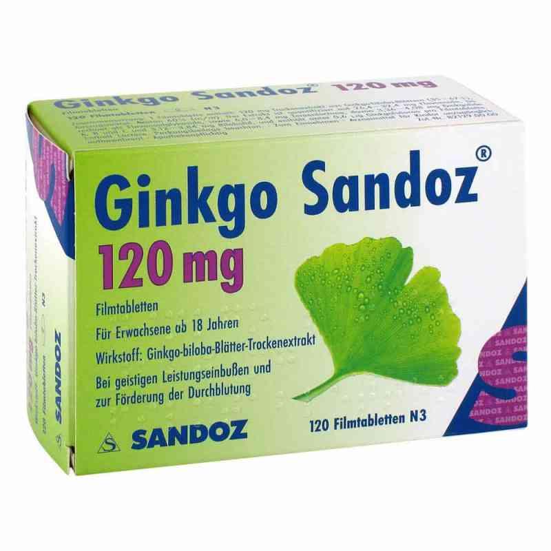 Ginkgo Sandoz 120 mg Filmtabl.  zamów na apo-discounter.pl