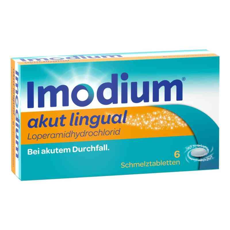 Imodium akut lingual Tabletki przeciw biegunce  zamów na apo-discounter.pl