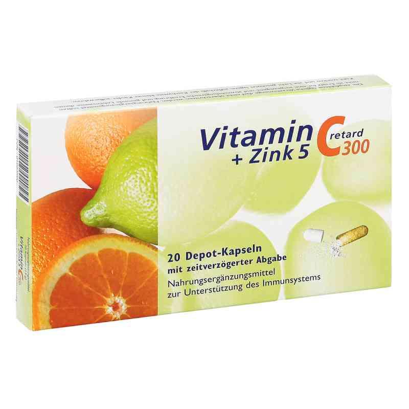 Vitamin C 300 + Zink 5 retard Kapseln  zamów na apo-discounter.pl