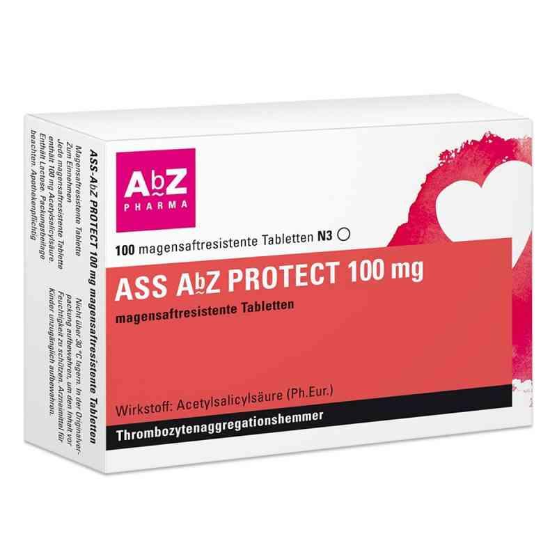 Ass Abz Protect 100 mg magensaftresist.Tabl.  zamów na apo-discounter.pl