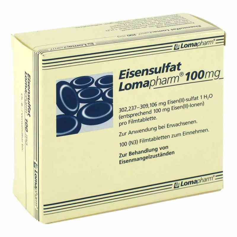 Eisensulfat Lomapharm 100 mg Filmtabl. zamów na apo-discounter.pl