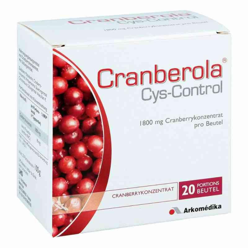 Cranberola Cys Control w proszku  zamów na apo-discounter.pl