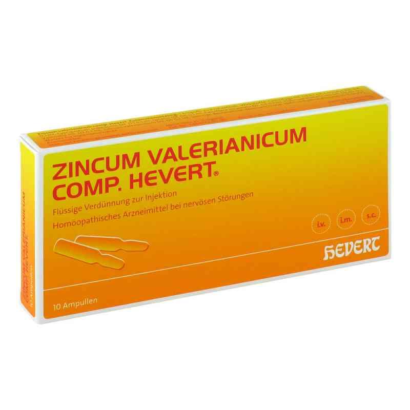 Zincum Valerianicum comp. Hevert Amp. zamów na apo-discounter.pl