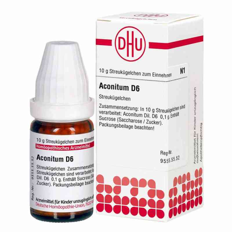 Aconitum D 6 Globuli  zamów na apo-discounter.pl