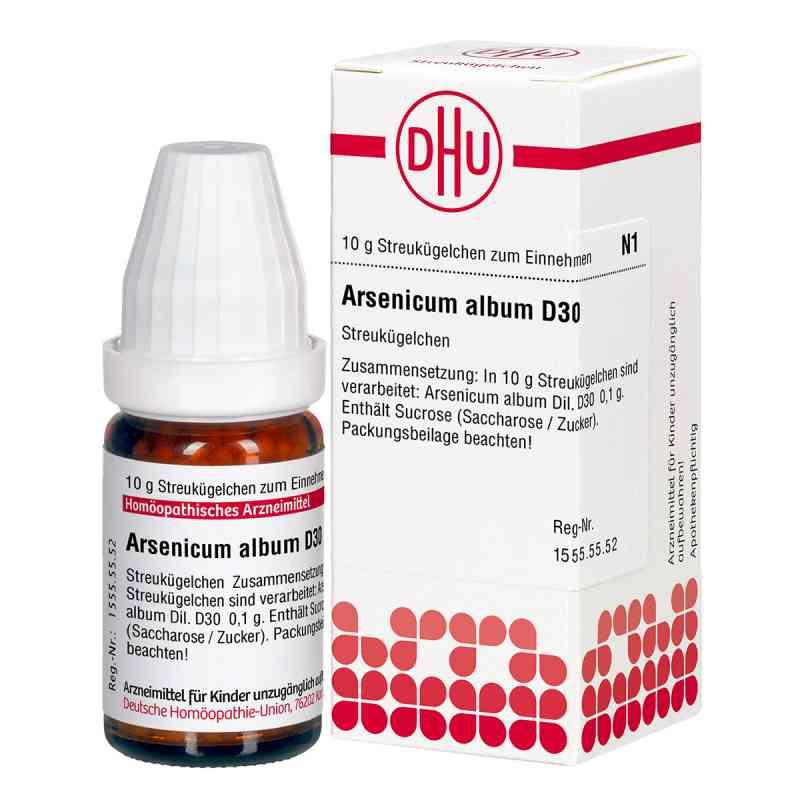 Arsenicum Album D 30 Globuli zamów na apo-discounter.pl