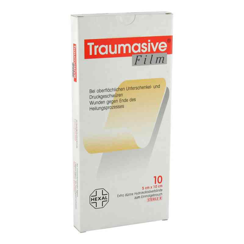 Traumasive Film 5x10cm Hydrokolloid-verband  zamów na apo-discounter.pl